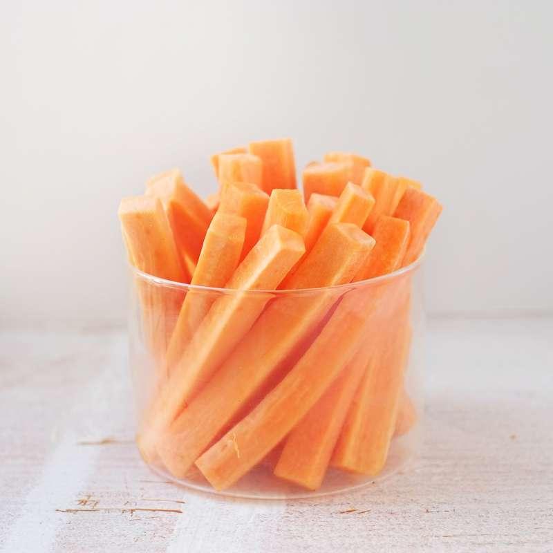 Bâtonnets de carotte