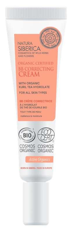 BB Crème correctrice tous types de peaux au Thé de Kourile BIO, Natura Siberica (30 ml)