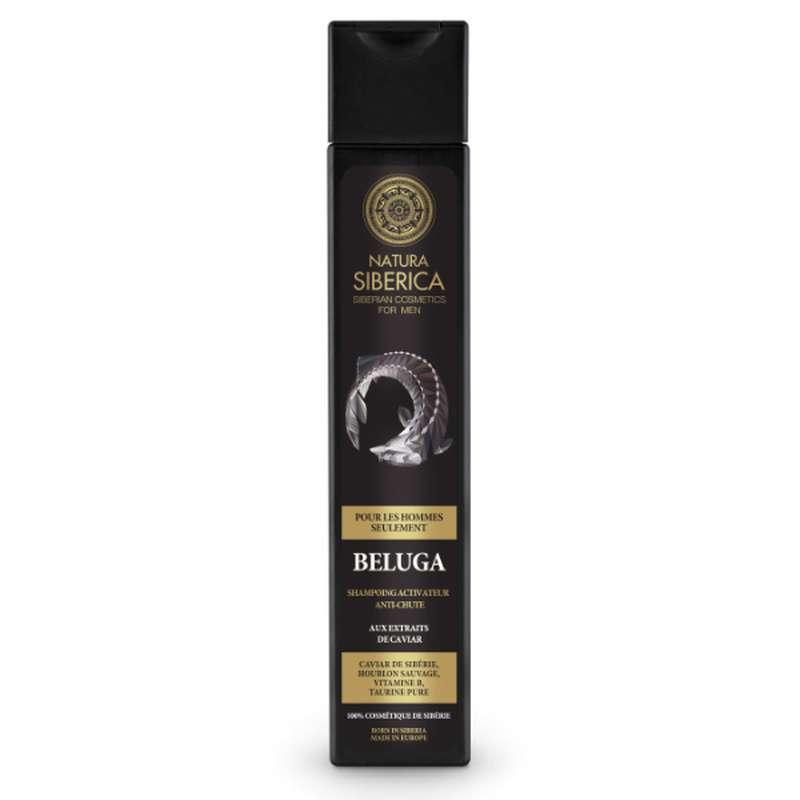 Beluga Shampoing activateur anti-chute, Natura Siberica (250 ml)