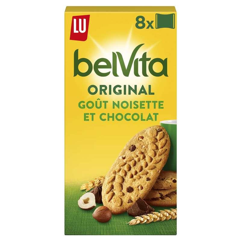 Belvita Petit déjeuner chocolat et noisettes, Lu (400 g)