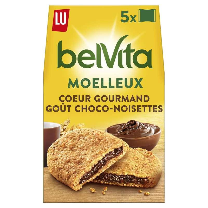 Belvita Petit déjeuner coeur gourmand choco-noisette, Lu (250 g)