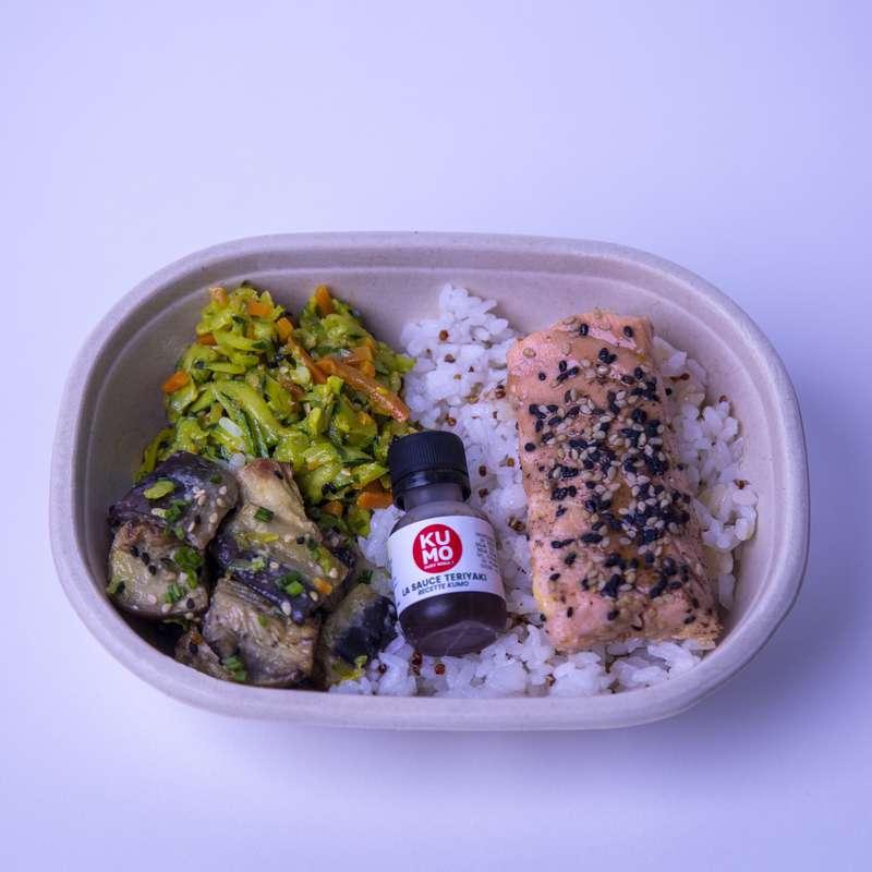 Bento Saumon Teriyaki, Kumo (360 g)