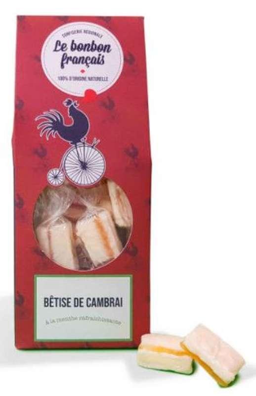 Bêtise de Cambrai à la menthe rafraîchissante, Le Bonbon Français (170 g)