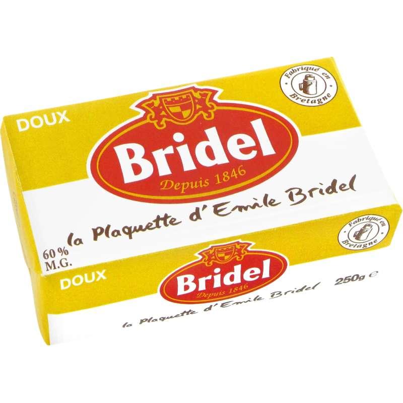 Beurre doux, Bridel (250 g)