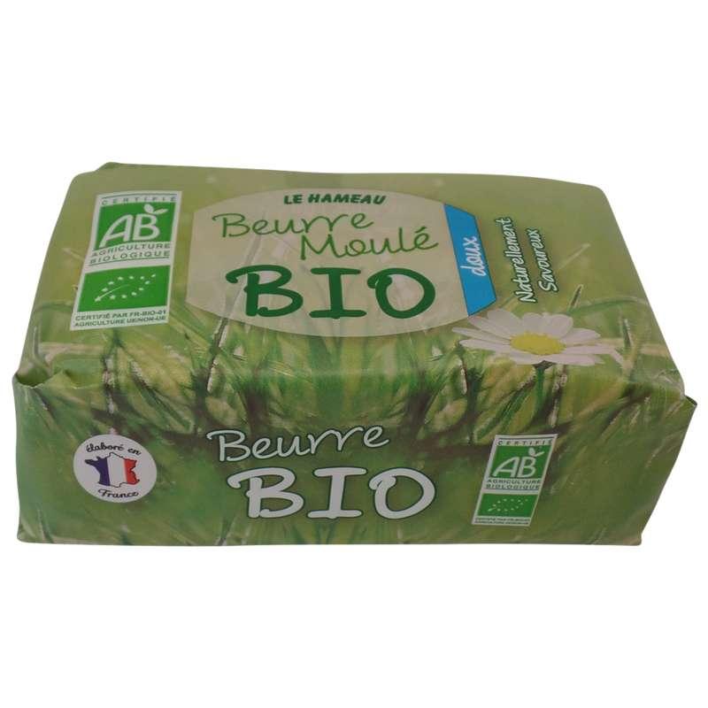 Beurre moulé doux BIO, Le Hameau (250 g)