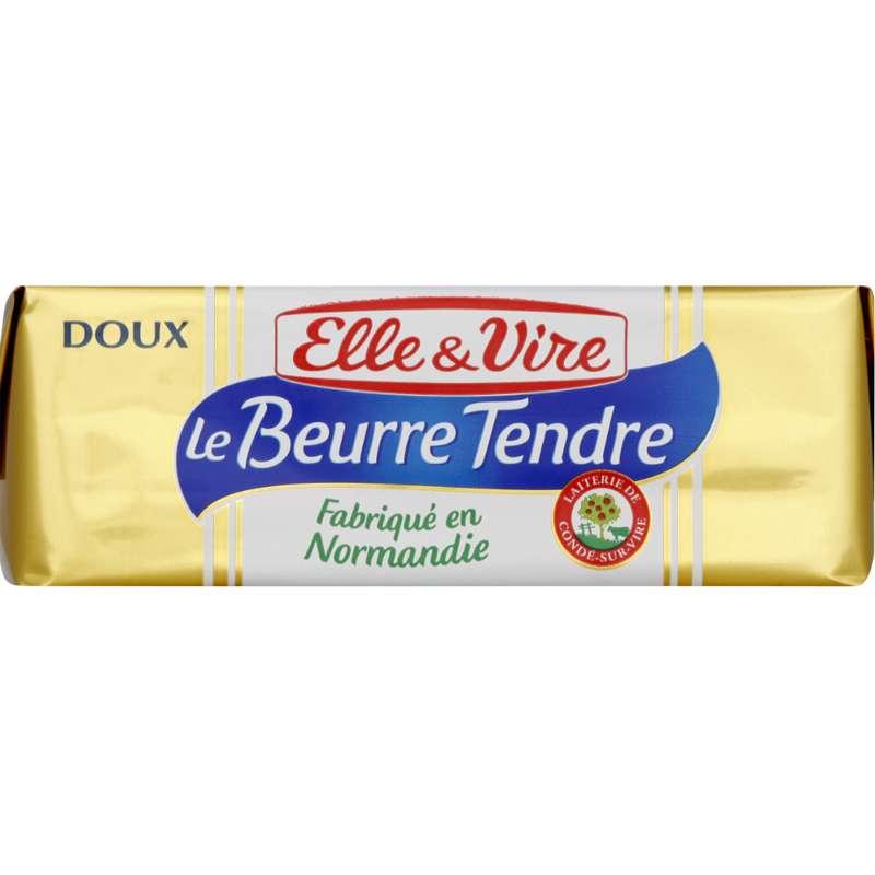 Beurre doux tendre, Elle & Vire (250 g)