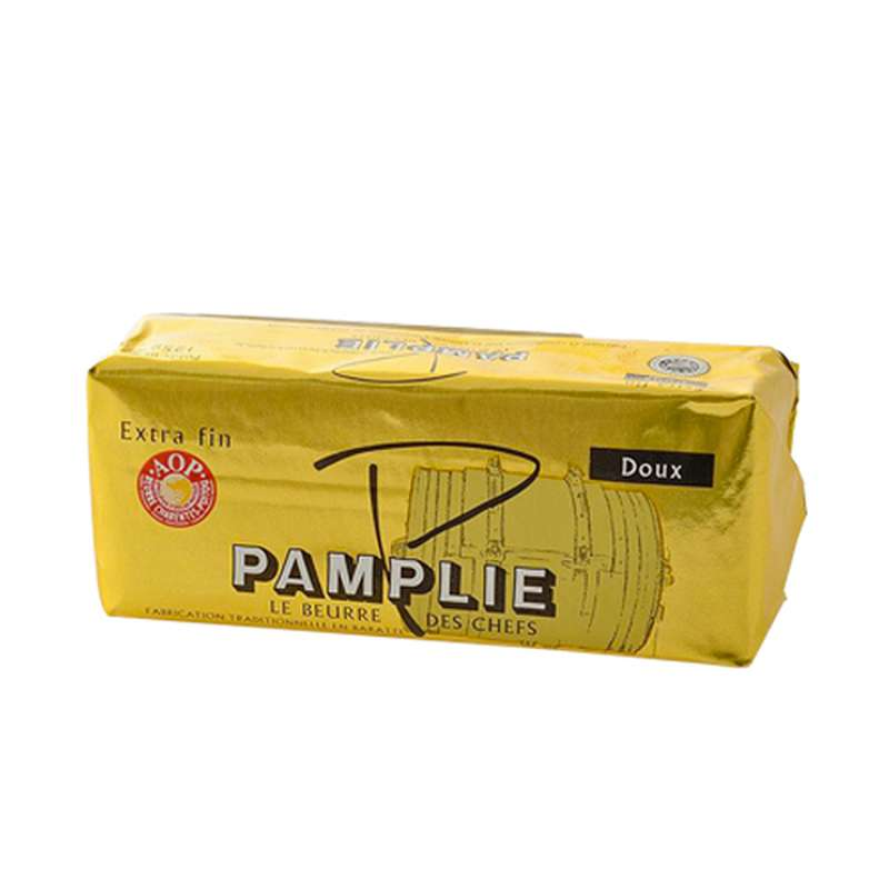Beurre extra fin doux Pamplie (250 g)