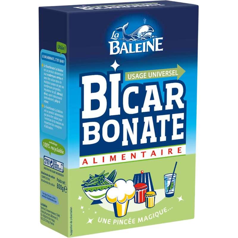 Bicarbonate alimentaire, La Baleine (800 g)
