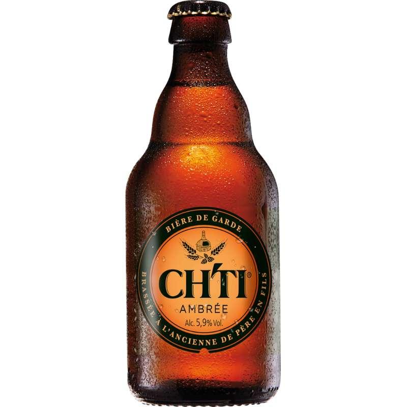 Ch'ti bière de garde ambrée, 5,9° (33 cl)