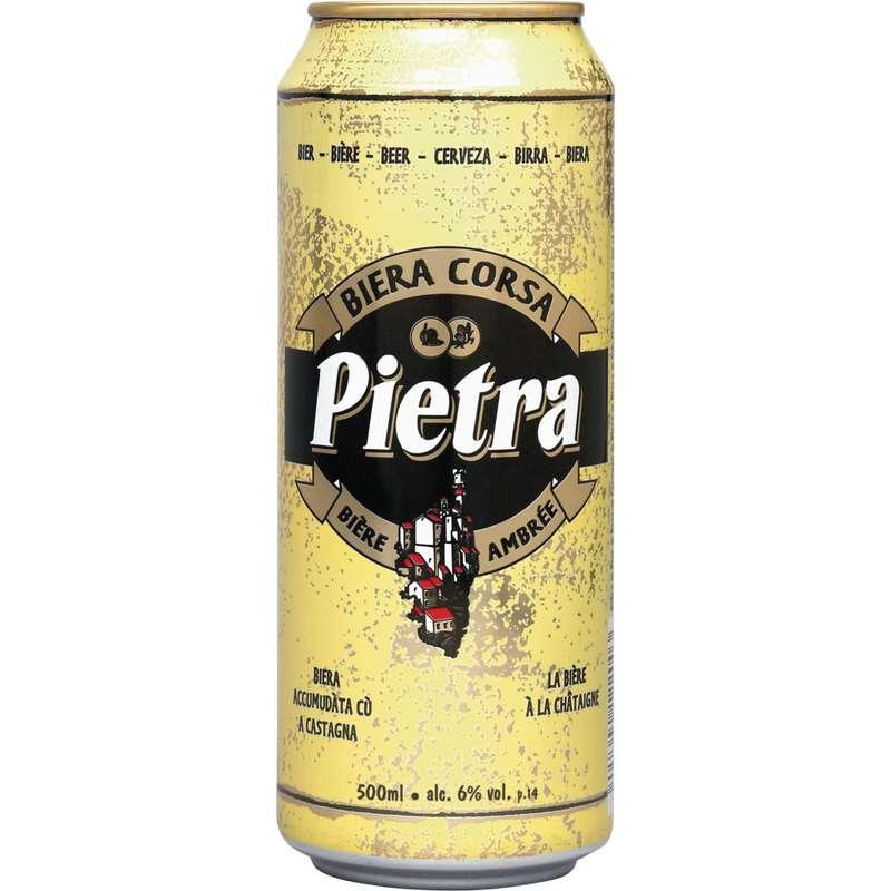 Pietra bière Corse ambrée, 6° (50 cl)