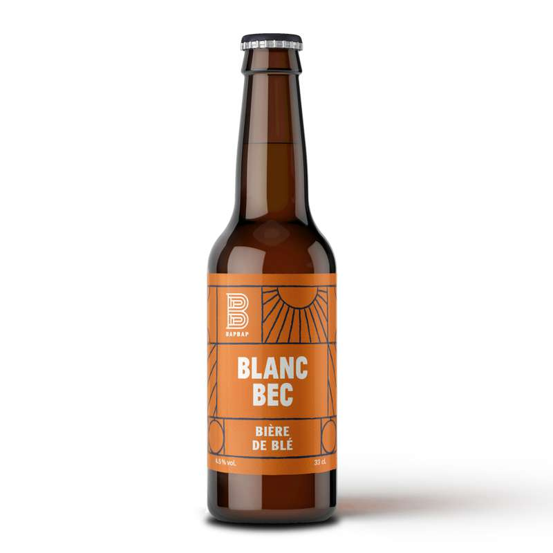 Bière blanche Blanc Bec, Bapbap (33 cl)