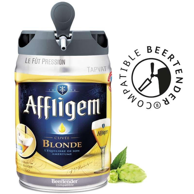 Bière blonde Affligem, 6,7°, fût pression (5 L)