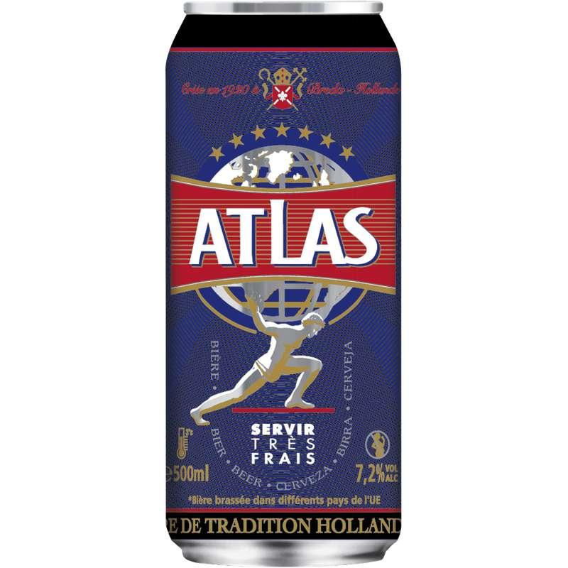 Atlas bière blonde, 7,2° (50 cl)