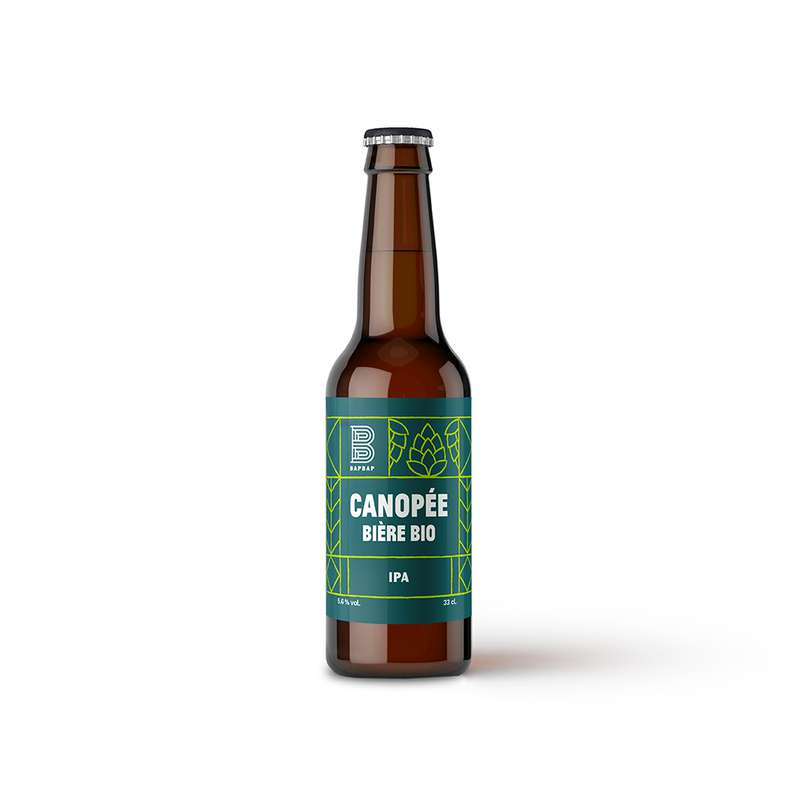 Bière blonde Canopée BIO, Bapbap (33 cl)