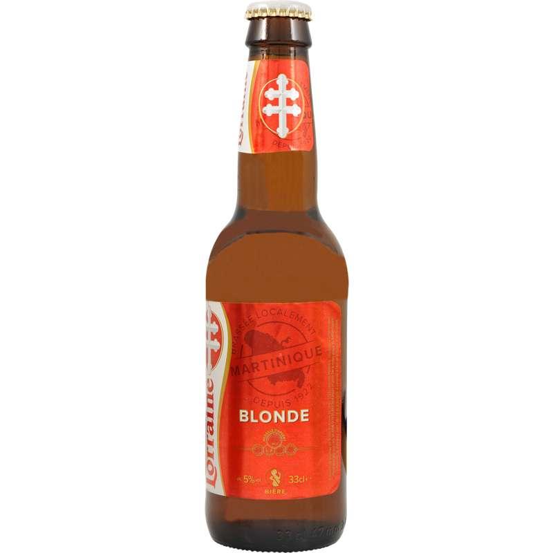 Bière blonde de Martinique Lorraine, 5° (33 cl)