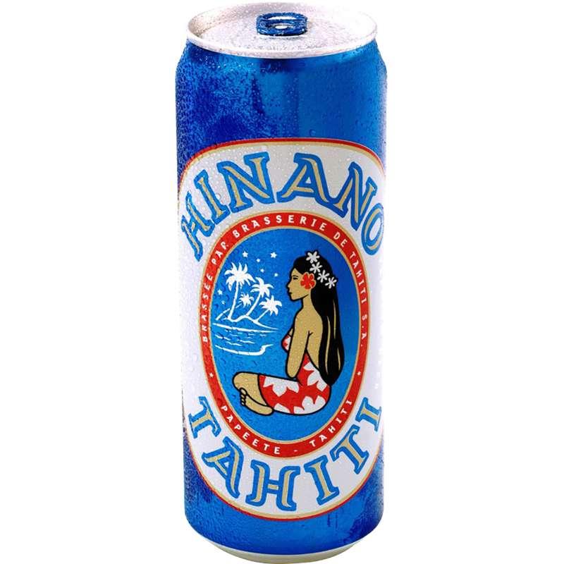 Hinano bière de Tahiti, 5° (50 cl)