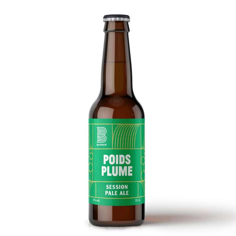 Bière blonde Poids Plume, Bapbap (33 cl)