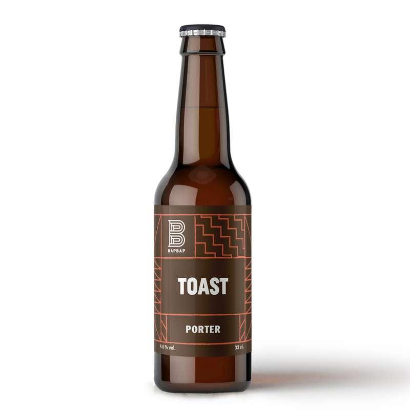 Bière brune Toast, Bapbap (33 cl)