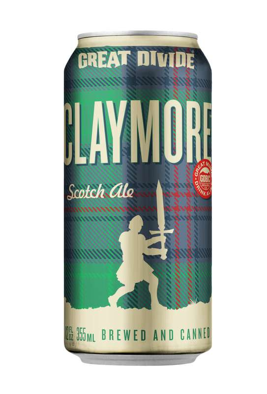 Bière Claymore Scotch Ale, Great Divide (33 cl)