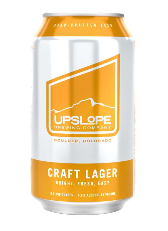 Bière Craft Lager, Upslope Brewing Company (33 cl)
