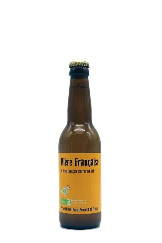 Bière Française de Jean-François Carrel dit Jeff BIO (33 cl)