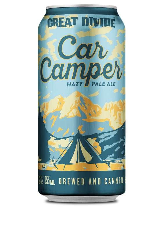 Bière Hazy Pale Ale Car Camper, Great Divide (33 cl)