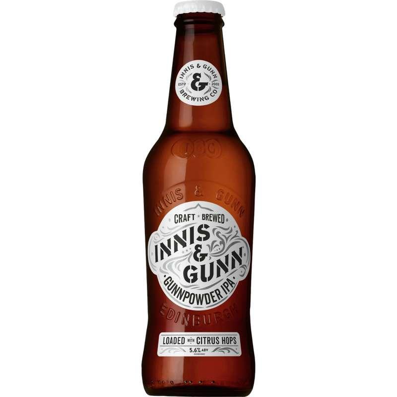 Innis & Gunn Gunnpowder IPA, 5,6° (33 cl)