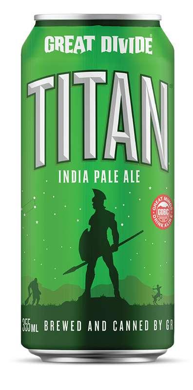 Bière IPA Titan, Great Divide (33 cl)