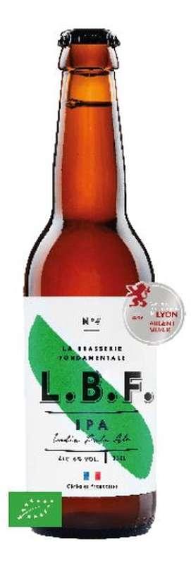 Bière IPA 6° BIO, LBF (33 cl)