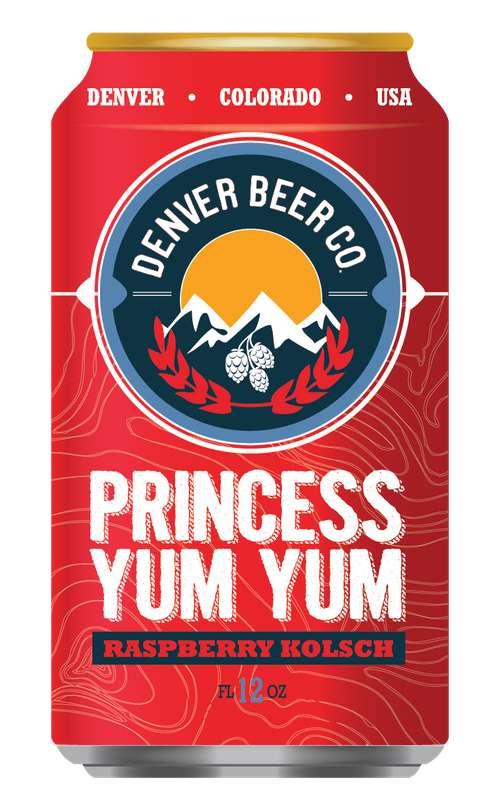 Bière Raspberry Princess Yum Yum, Denver Beer Co (33 cl)