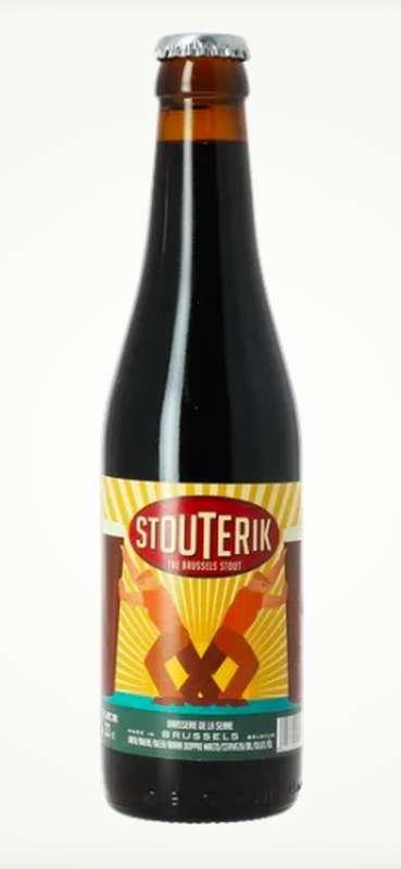 Bière Stouterik, Brasserie de la Senne (33 cl)