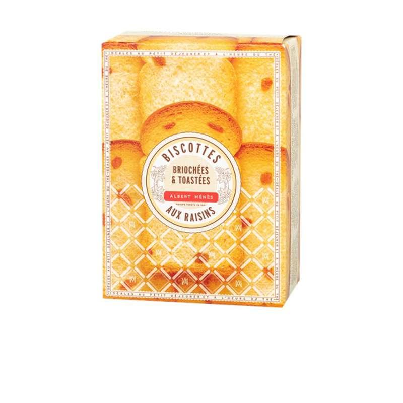 Biscottes aux raisins toastées au beurre, Albert Ménès (200 g)