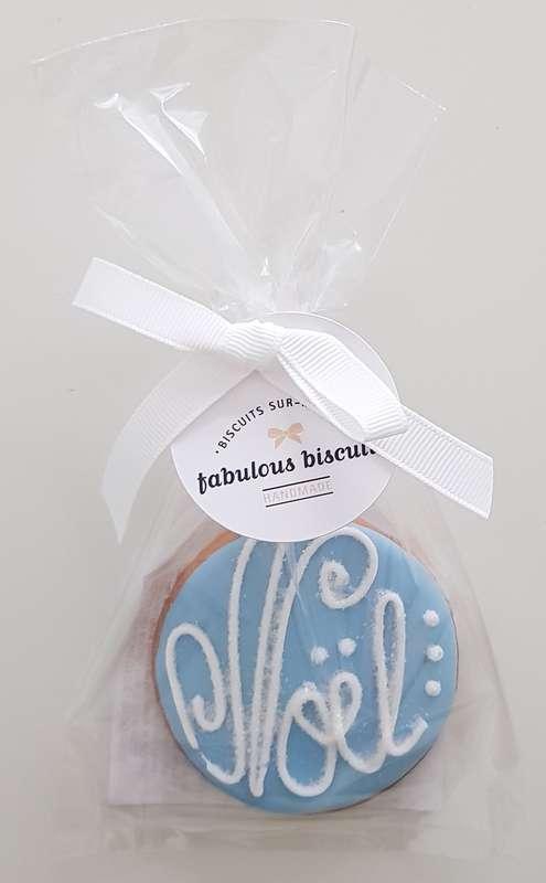 Biscuit Boule de Noël bleue, Fabulous Biscuits (30 g)