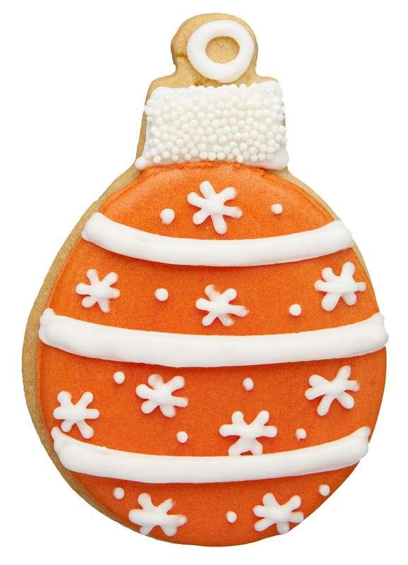 Biscuit Boule de Noël rouge (37 g)