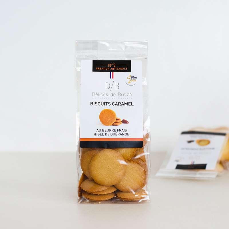 Biscuits caramel, Délices de Breizh (110 g)