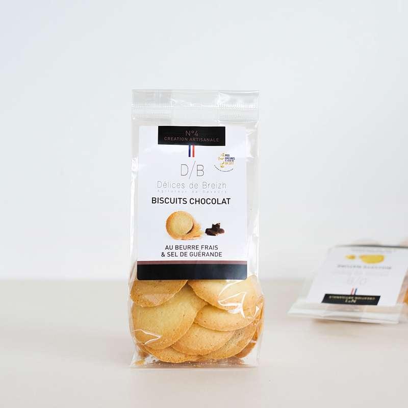 Biscuits chocolat, Délices de Breizh (110 g)