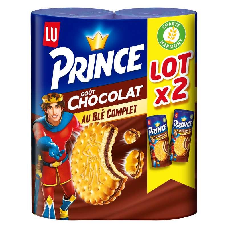 Biscuit Prince au Chocolat, Lu (2 x 300 g)