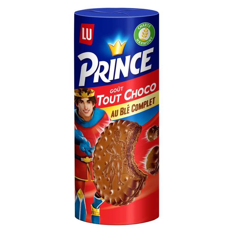 Biscuit Prince tout chocolat, Lu (300 g)