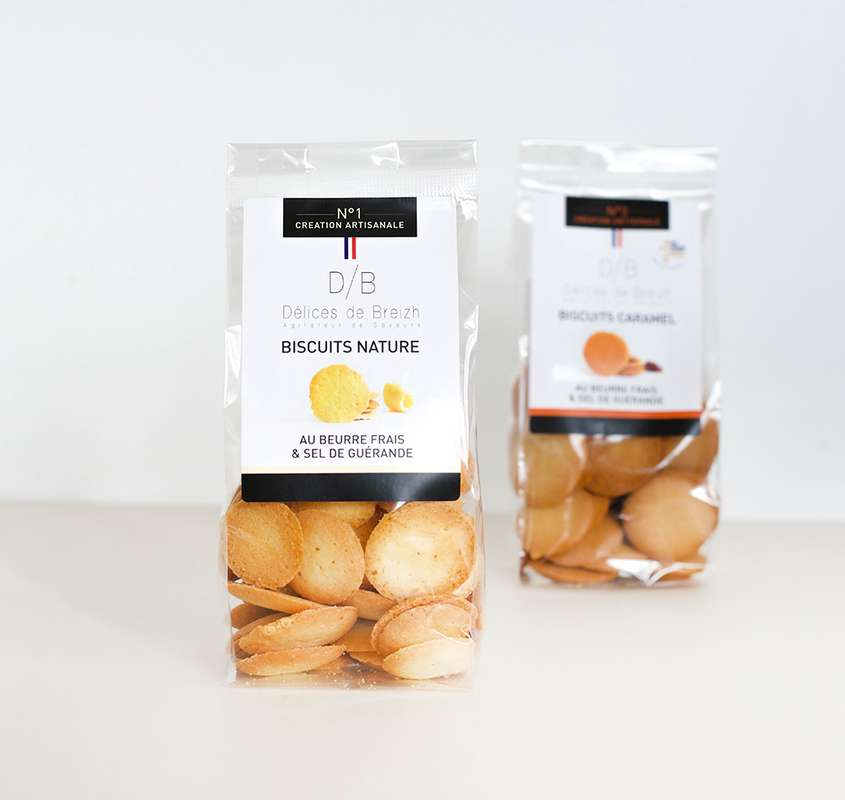 Biscuits nature, Délices de Breizh (110 g)