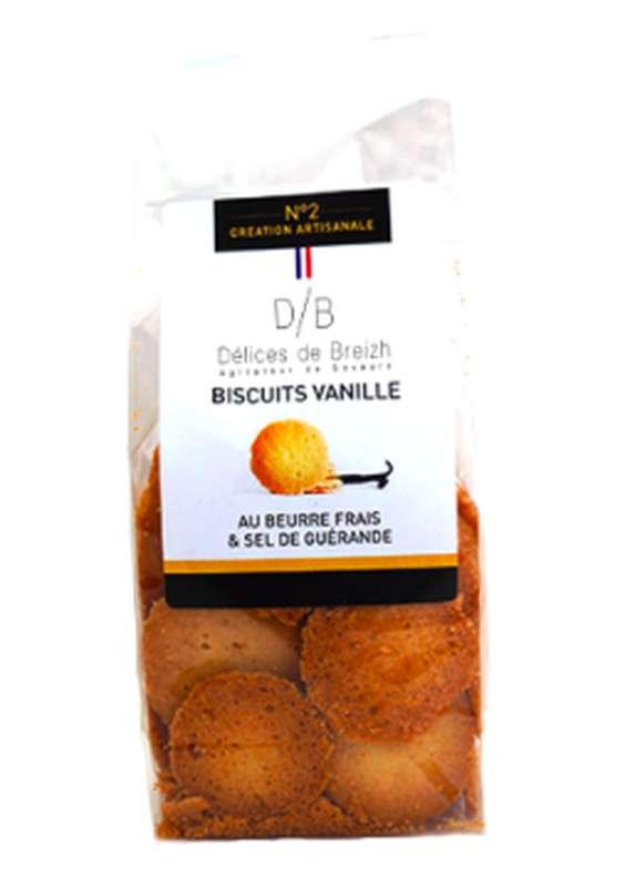 Biscuits vanille, Délices de Breizh (110 g)