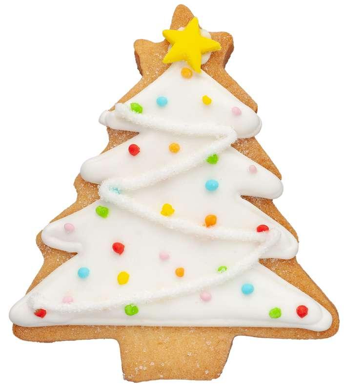 Biscuit Sapin de Noël blanc (35 g)