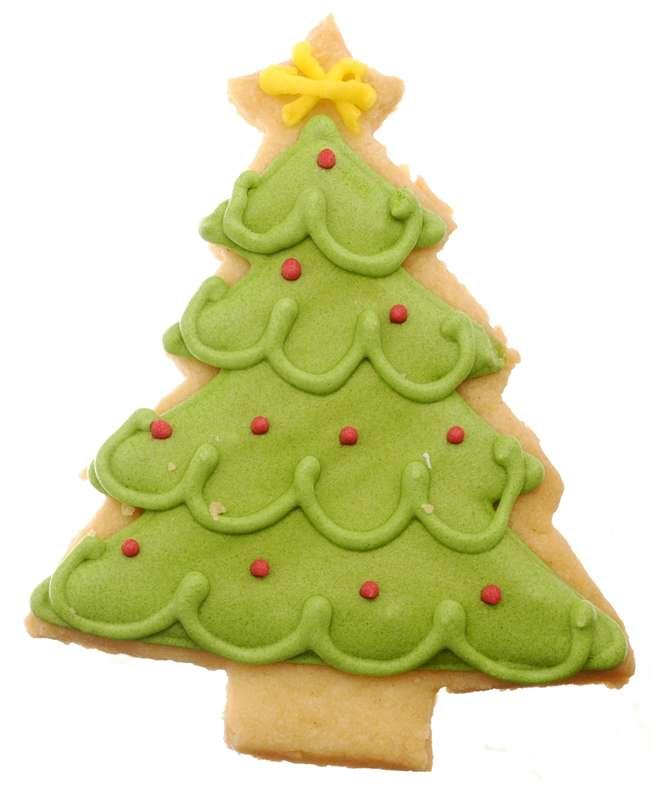 Biscuit Sapin de Noël vert (35 g)