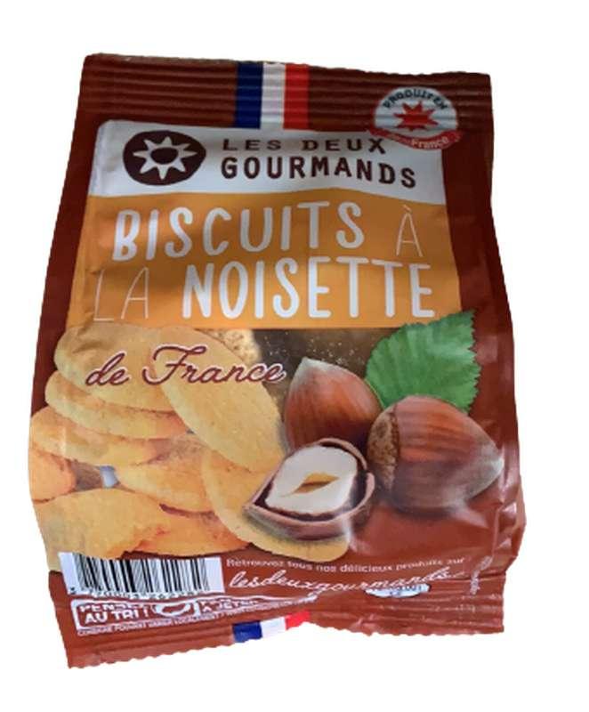 Biscuits à la noisette de France, Les Deux Gourmands (50 g)