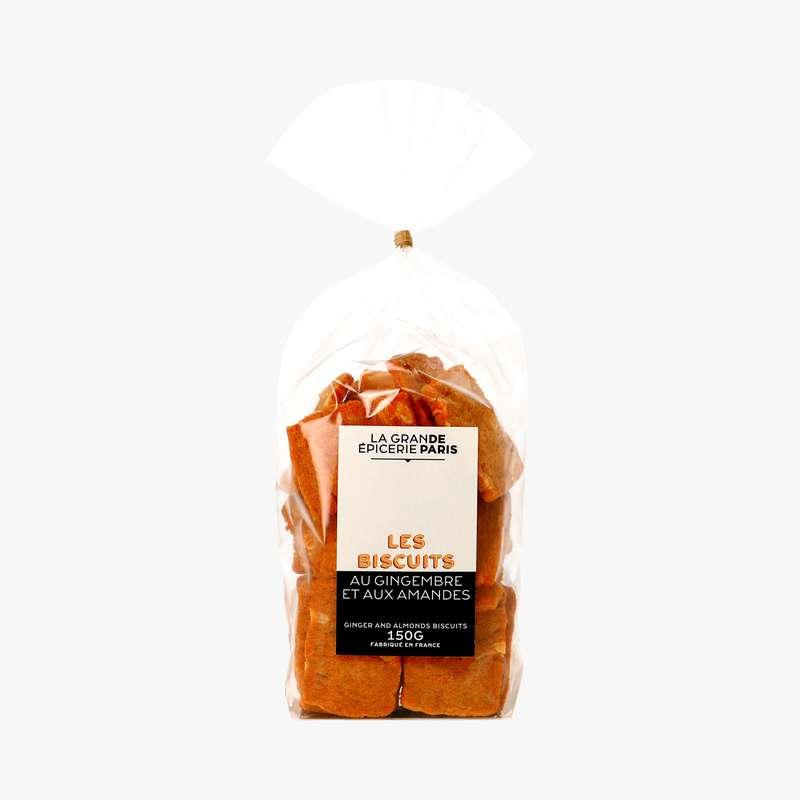 Biscuits au gingembre et aux amandes, La Grande Epicerie de Paris (150 g)