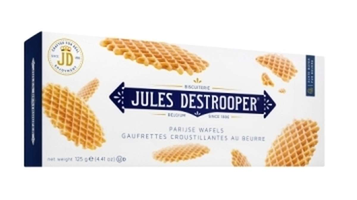 Gaufrettes croustillantes au beurre, Jules Destrooper (175 g)