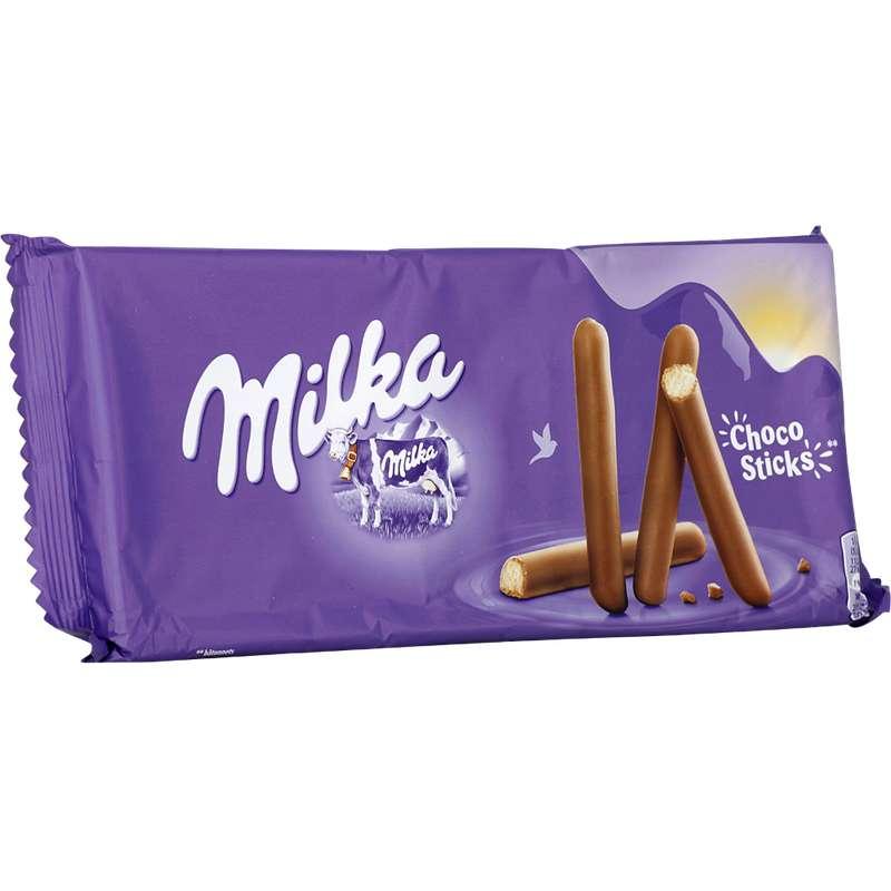 Biscuits Choco Sticks, Milka (144 g)
