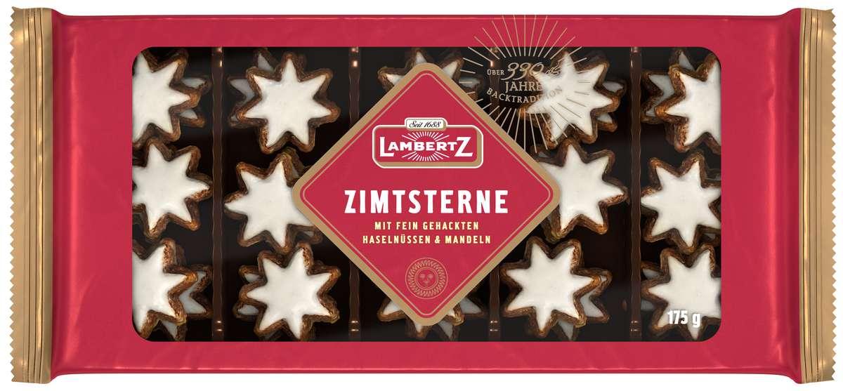 Biscuits Étoiles à la cannelle, Henry Lambertz (175 g)