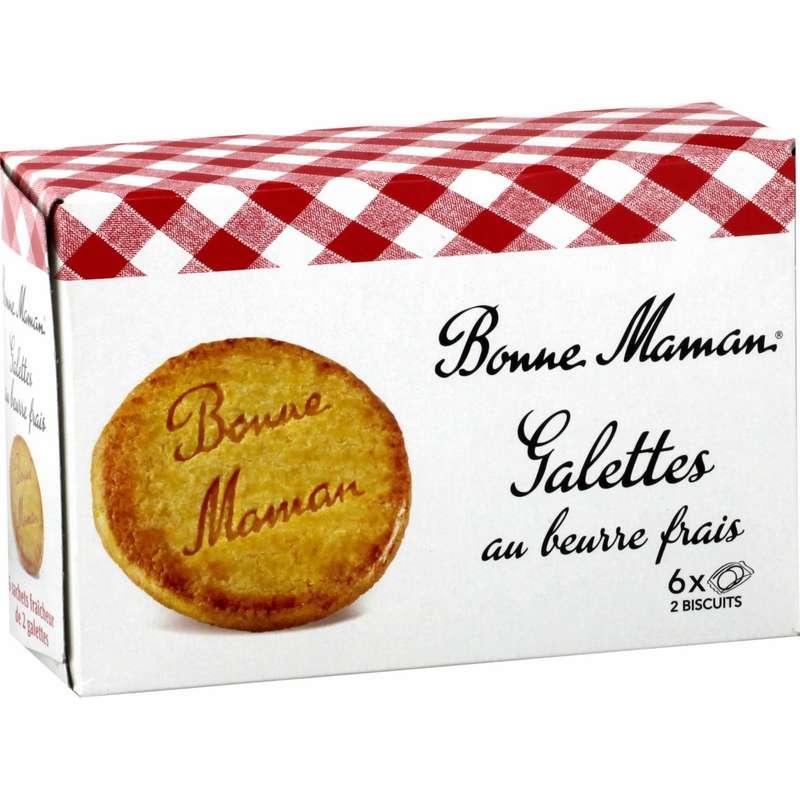 Galettes au beurre Bonne Maman (x 6, 170 g)