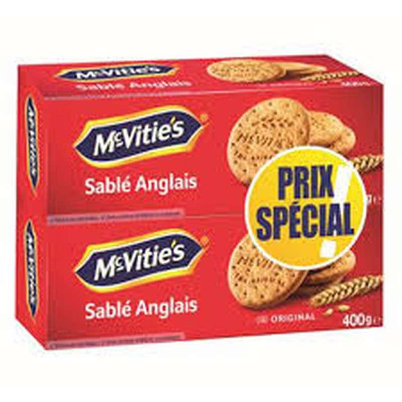 Biscuits original, Mc Vitie's LOT DE 2 (2 x 400 g)