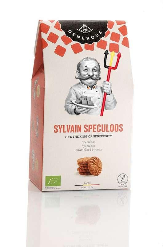 Biscuits Sylvain Spéculoos BIO, Generous (100 g)